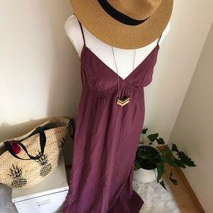 12st By Cynthia Rowley Silk Maxi Dress